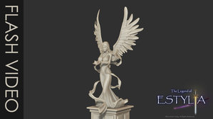 Angel statue turn table by orrochi d5mlw3w
