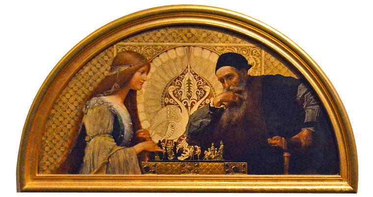 Leonard de Vinci et sa Muse