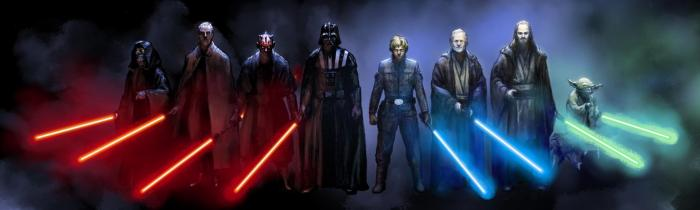 Star wars dual jedi vs sith forces